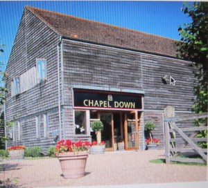 Chapel Down Winery - an English winery