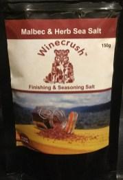 Winecrush product: Malbec and Herb Sea Salt