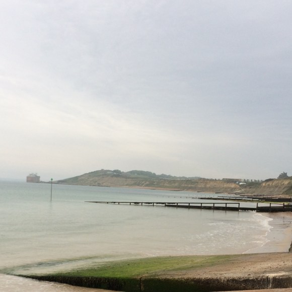 View from Colwell Bay, IOW