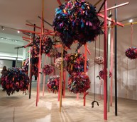 Phyllida Barlow installation at Masterpiece 2019.