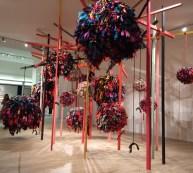 Phyllida Barlow installation at Masterpiece 2019.