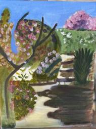 En plein air painting!