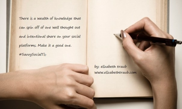 Weath of knowledge to share