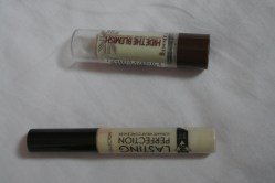 Collection lasting perfection concealer & Rimmel Hide the Blemish