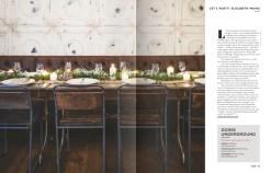 Racks styling Vow magazine 3- Elizabeth Weddings