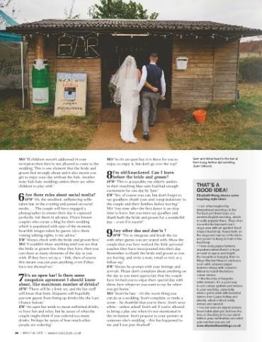 Q&A Elizabeth Weddings Bristol life Magazine 3