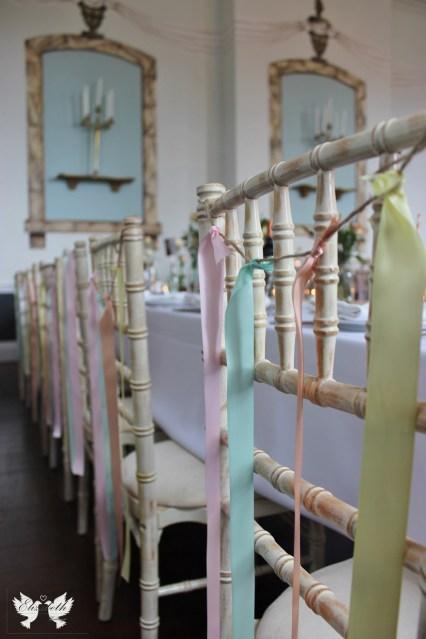 Pastel ribbons- Elizabeth Weddings