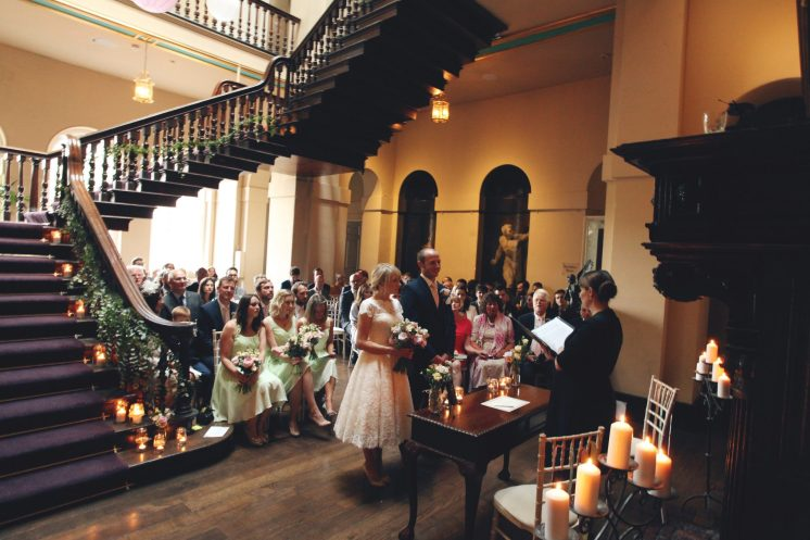 Tom and Beccy Grand Staircase room- Luke Doyle Photography