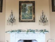 Orchardleigh House mantelpiece- Elizabeth Weddings