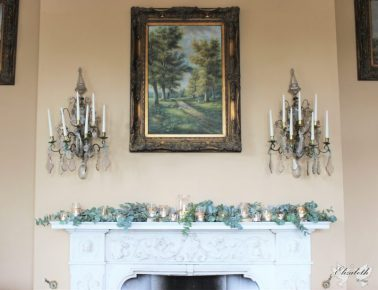 Orchardleigh House mantelpiece- Elizabeth Weddings