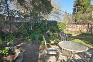 Back yard on San Luis Court