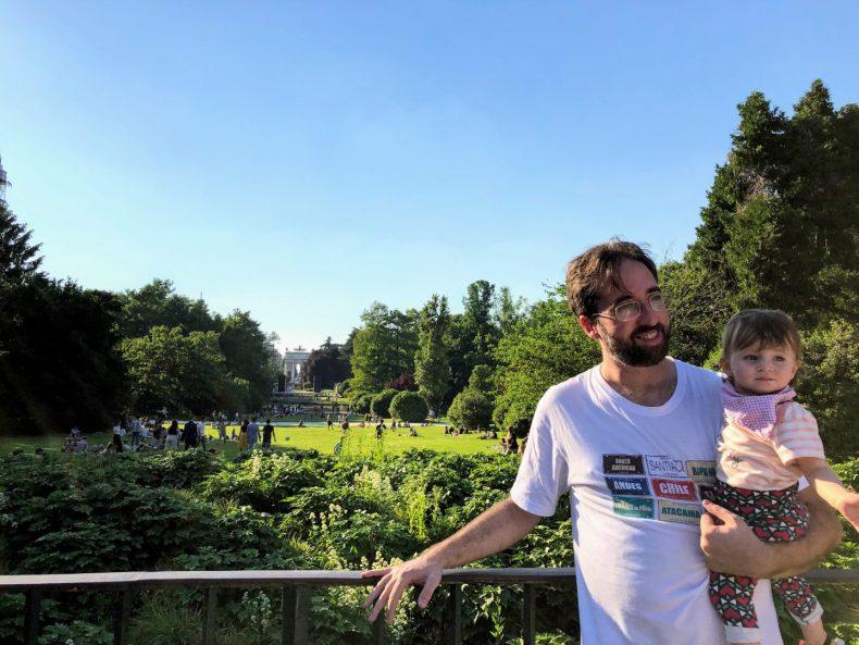 Parque em Milão