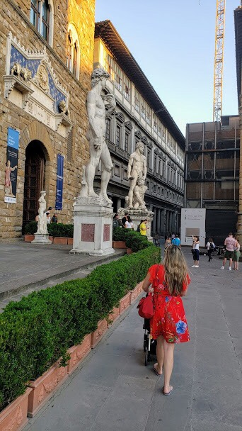 Réplica do David de Michelangelo