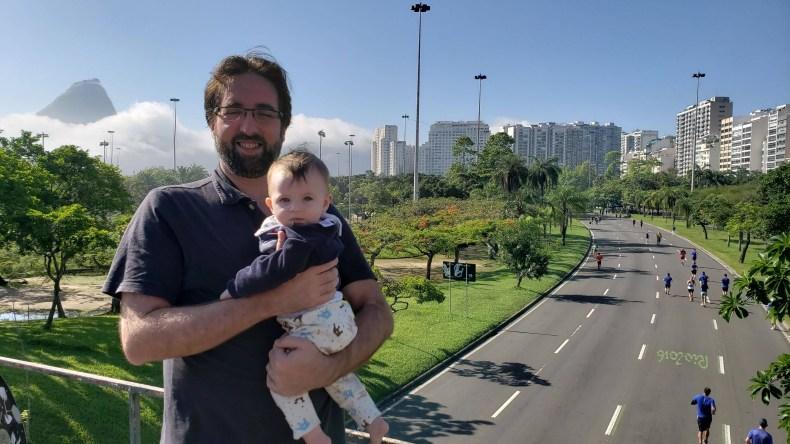 Vista linda do Aterro do Flamengo. Rio de Janeiro