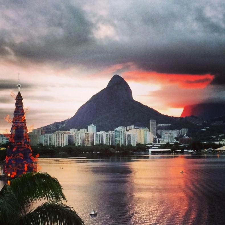 Árvore de Natal da Lagoa. Rio de Janeiro.