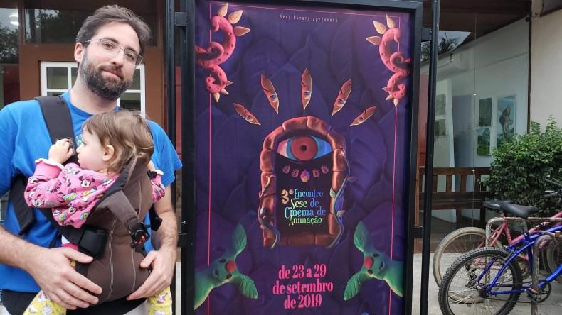 Dando a sorte de visitar Paraty durante um Festival de Cinema e Animação