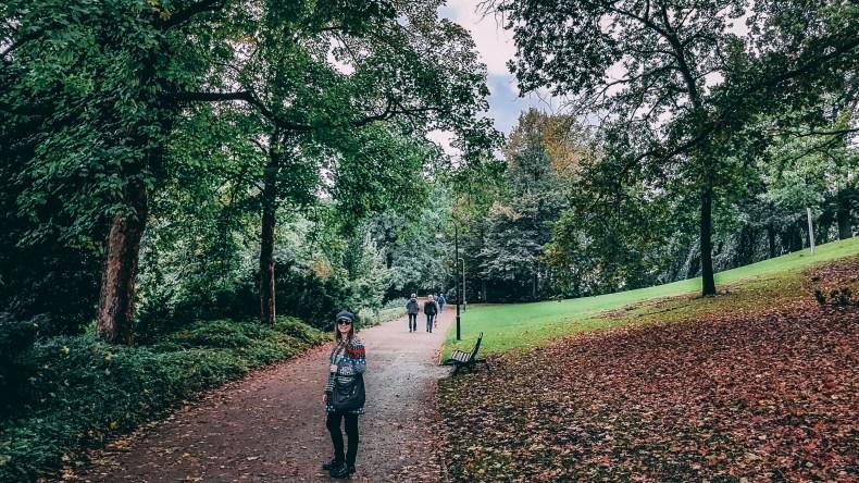 Lindo parque em Bremen