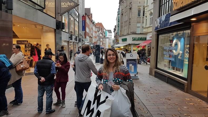 Centrinho para compras em Bremen