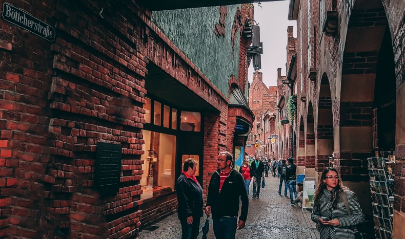 pelas ruas de Bremen