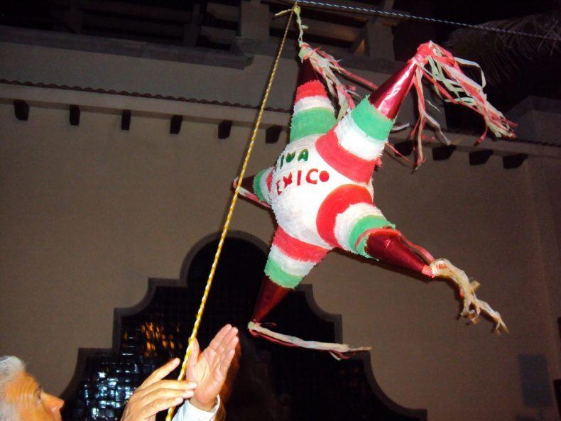 Piñata mexicana em Cancún