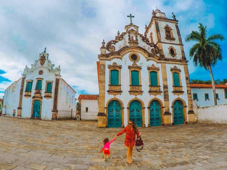 Igreja histórica em Marechal Deodoro, Alagoas