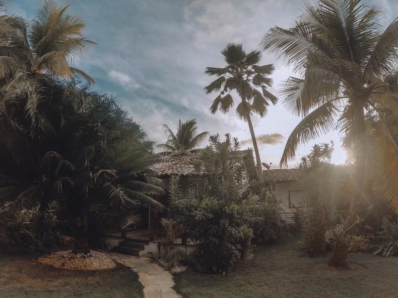 chalé na Pousada do Toque, São Miguel dos Milagres, Alagoas. Rota Ecológica dos Milagres