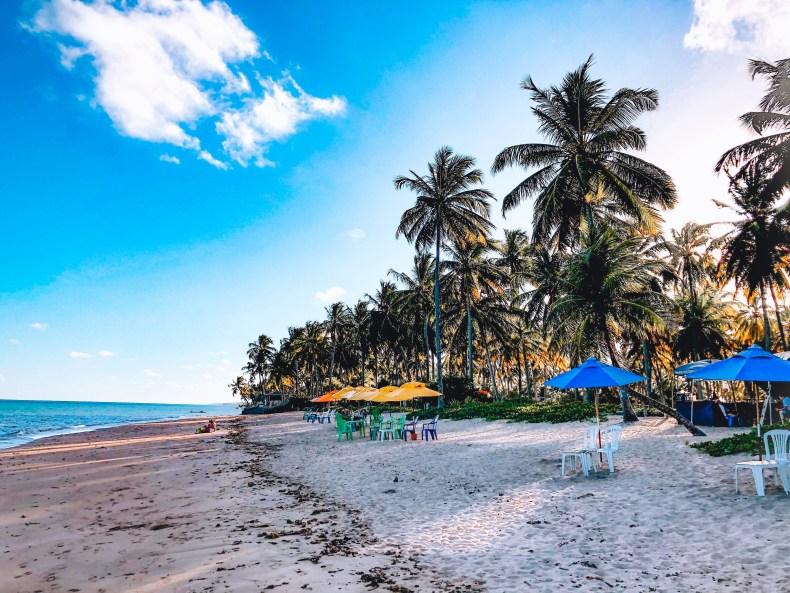 barraquinhas na praia do patacho