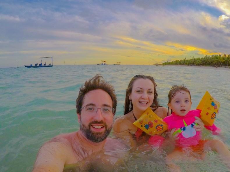 Família em  Milagres na rota Ecológica de Alagoas