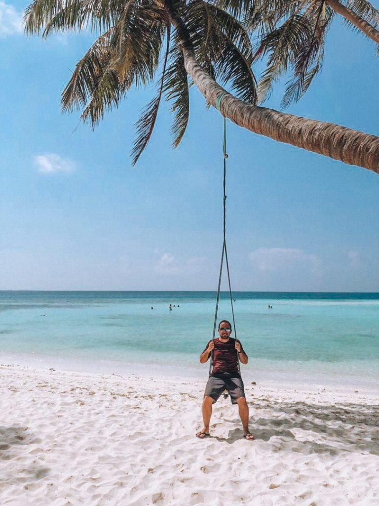 Guilherme Sodré nas Maldivas