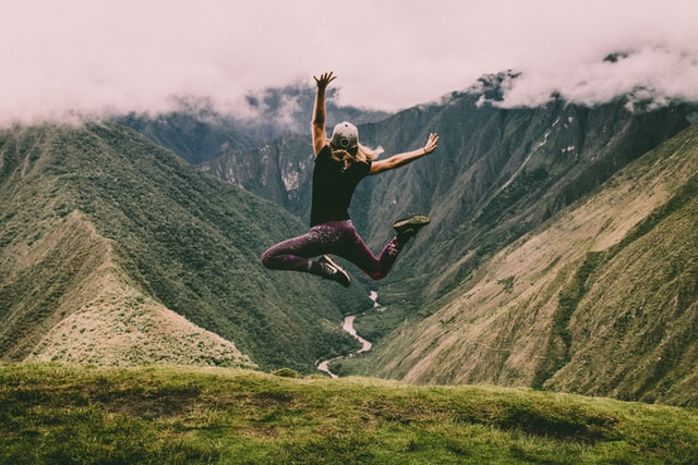 Embracing a new adventure- face challenges, take risks; embark on an exciting journey.