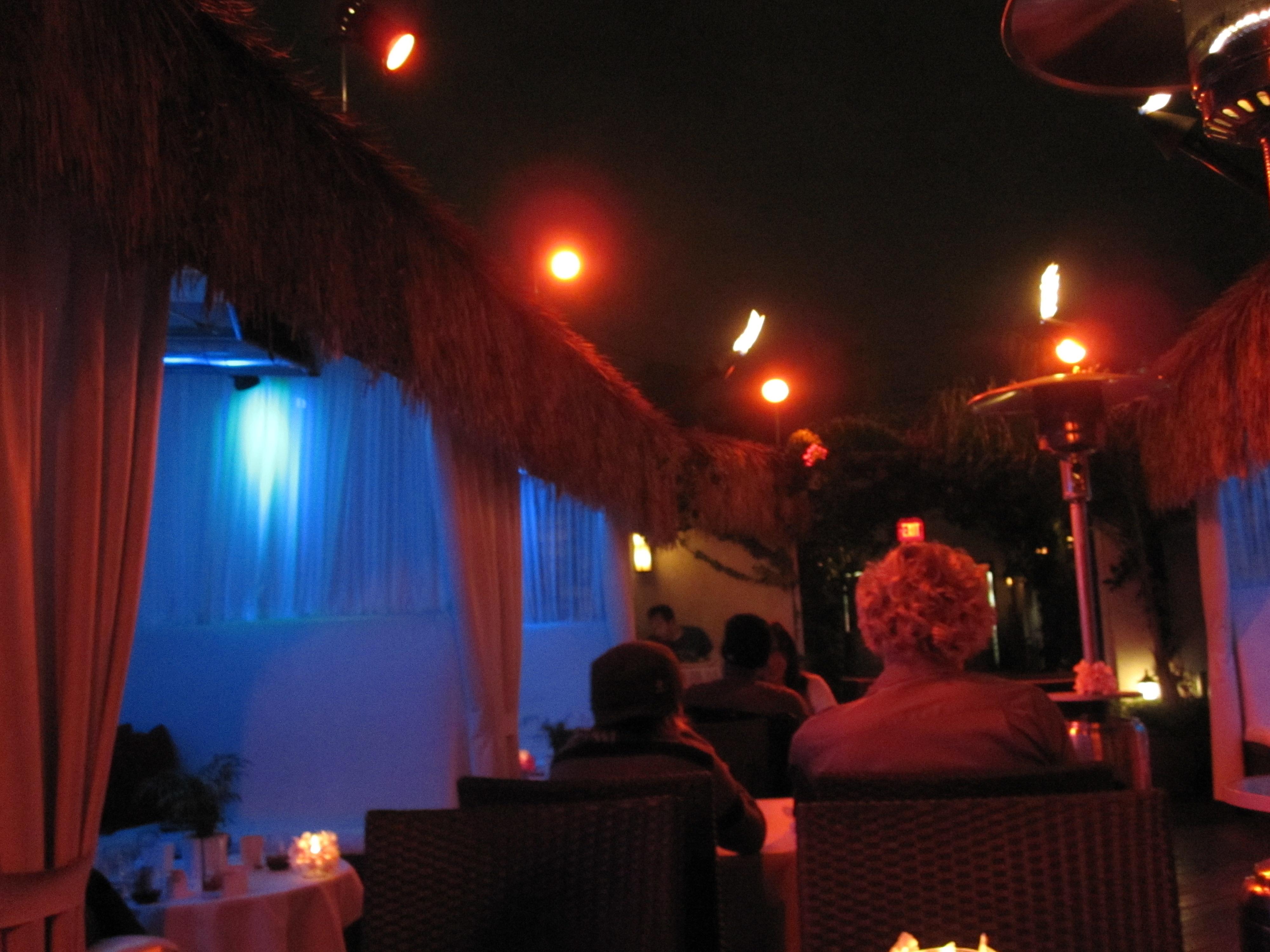 Lei lounge in San Diego