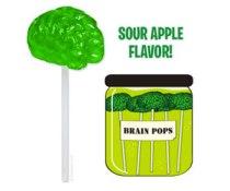 Best Halloween Treats - Brain Lollipop