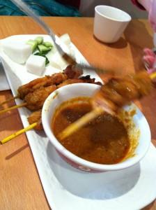 Cheap Eats in London - Rasa Sayang Chicken Satay
