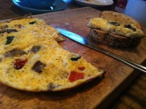 Vagabond coffee shop omelette
