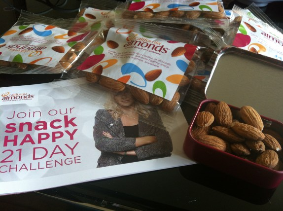 California Almonds Snack Happy 21 Day Challenge