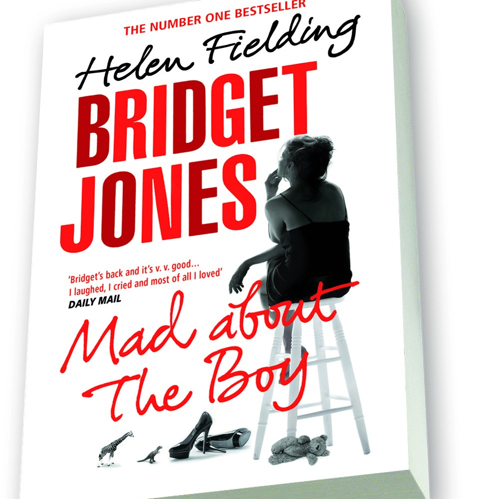 Bridget is back and there's a copy of Mad About the Boy up for grabs