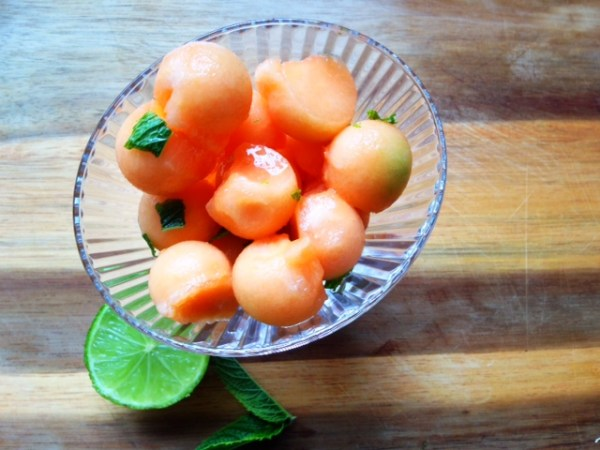 4 steps for summer - Florette salad melon recipe
