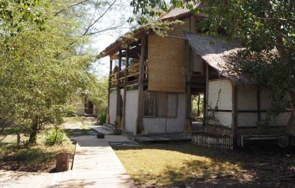 Our Robinson Crusoe 'house' at Mao Meno on Gili Meno
