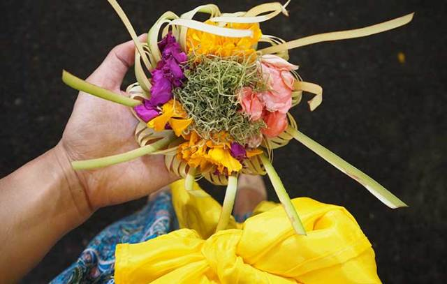 Spiritual Bali - canang