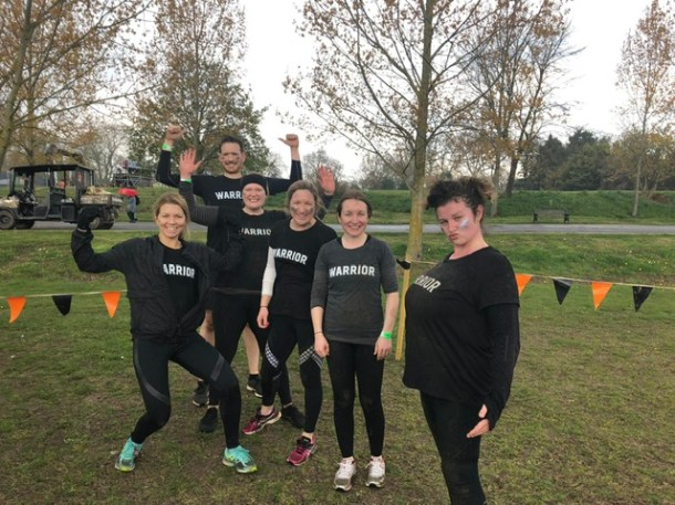 Warrior Mums 5k Urban Tough Mudder