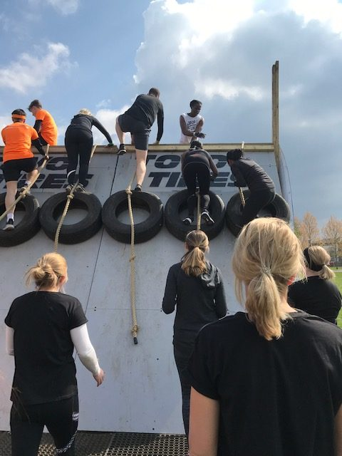 Warrior Mums 5k Urban Tough Mudder - Overtired
