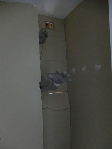 The drywall monster!