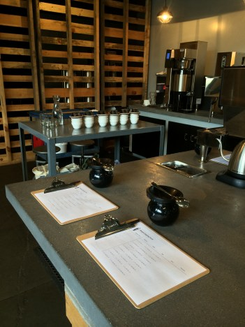 All is in order for our cupping.