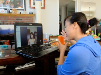 The first seeds of a new production, planted in typical ZiRu fashion - across 2 time zones, via Skype. I miss you Miche!