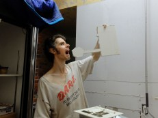 Drywall sculpting at its finest.