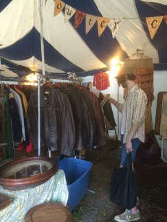 Life beyond Home Depot! Shopping for vintage clothing!