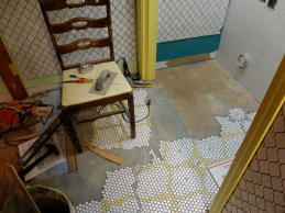 Nearing the end! And the arabesque wall tiles make an appearance.