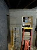 Bar walls D-O-N-E. Finally on. Finally no more exposed insulation!