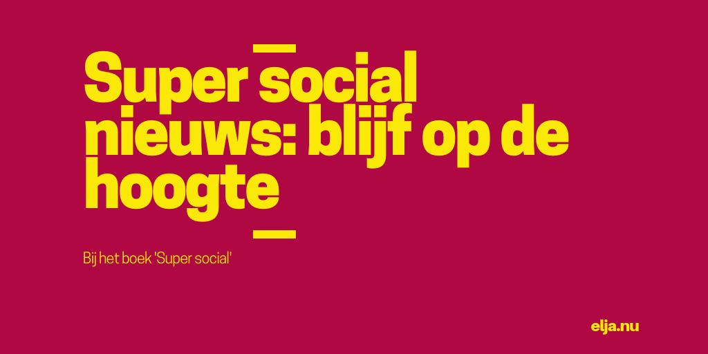 super social nieuwsbrief