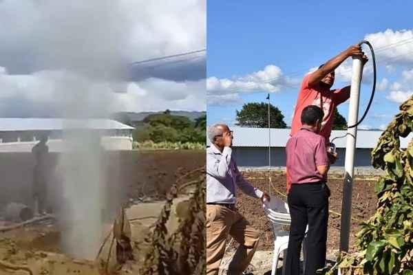 Resultado de imagen para gas biogenico villa tapia
